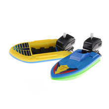 Wind Up Swimming Motorboat Boat Toy For Kid gifts wind up toys Summer Outdoor Pool Ship Toy High Quality(China)