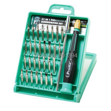 Free PP ProsKit SD-9802 Multifunction 31 IN 1 Precision Electronic Screwdriver Set Screwdriver Repair Tool Set For Phones(China)