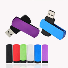 Classic 8GB 32GB Usb 2.0 Stick 64GB Flash Drive robot Pen Drive 128GB Rotate Metal Disk On Key 16G/4G stick Pendrives thumb