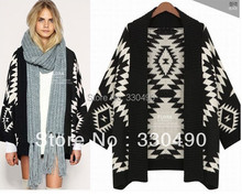 2014 unqiue design Spring women's sweater V-neck shell button knitted sweater ladies' Cardigan irregular  sweater knitwear