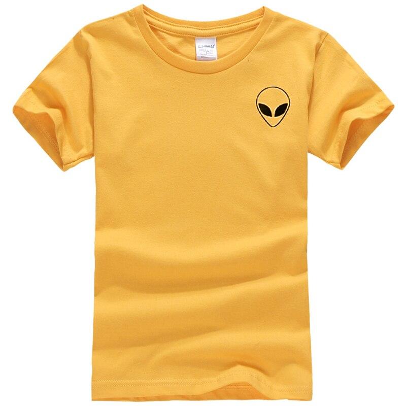 19 couleur S-XL Plaine T Shirt Femmes Coton Élastique De Base Chemises Casual Tops À Manches Courtes Harajuku Alien T-shirt Femme Vêtements 31