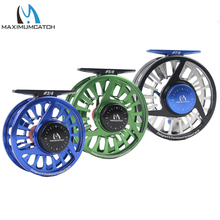 Maximumcatch Fly Fishing Reel 3/4/5/6/7/8WT Fly Reel Machined Aluminium Micro Adjusting Drag Fly Fishing Reel