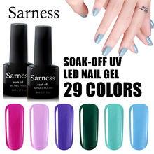 Sarness Nail Art Gel Varnish UV Gel Nail Polish Long Lasting All for Nails Gel Lacquer 8ml UV LED Soak Off Gel Nail Polish