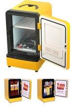 Mini Auto Refrigerator Car Fridge Portable Double Use Multi-Function Warmer Travel Home Camping Cooler 12V 7L