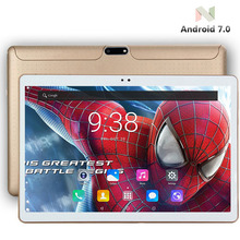"BMXC 10 inch Tablet PCs 3G WCDMA Octa Core 4GB RAM 64GB ROM 5.0MP Android 7.0 GPS 1280*800 IPS Tablet PC 10 10.1"" +Gifts(China)"