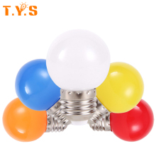 E27 Golf Ball Light LED Led Ampoule Energy Saving Globe Lampada Light Lamps for Living Room 220V 5 Colors