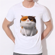 2017 New Fashion Anime Men/Women/Children's Cat printing T-shirt Summer Family fitted T-shirt cat 3d Print Cartoon Tees C3-56#(China)