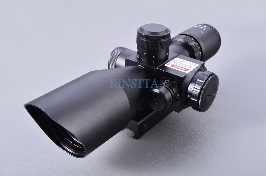 Scope with red laser-7