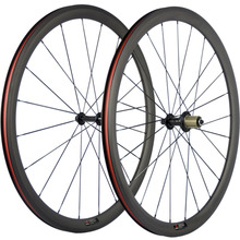 Carbon Wheelset Clincher Road Bike 38mm Carbon Wheels R13 Matte 700C Full Carbon Basalt Braking Surface Carbon Bicycle Wheels(China)