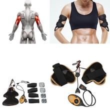 Electrical Muscle Stimulator Body Relax Muscles Arm Leg Massager Exercise Toning Belt Slim Fit Fitness Slimming Massage NEW