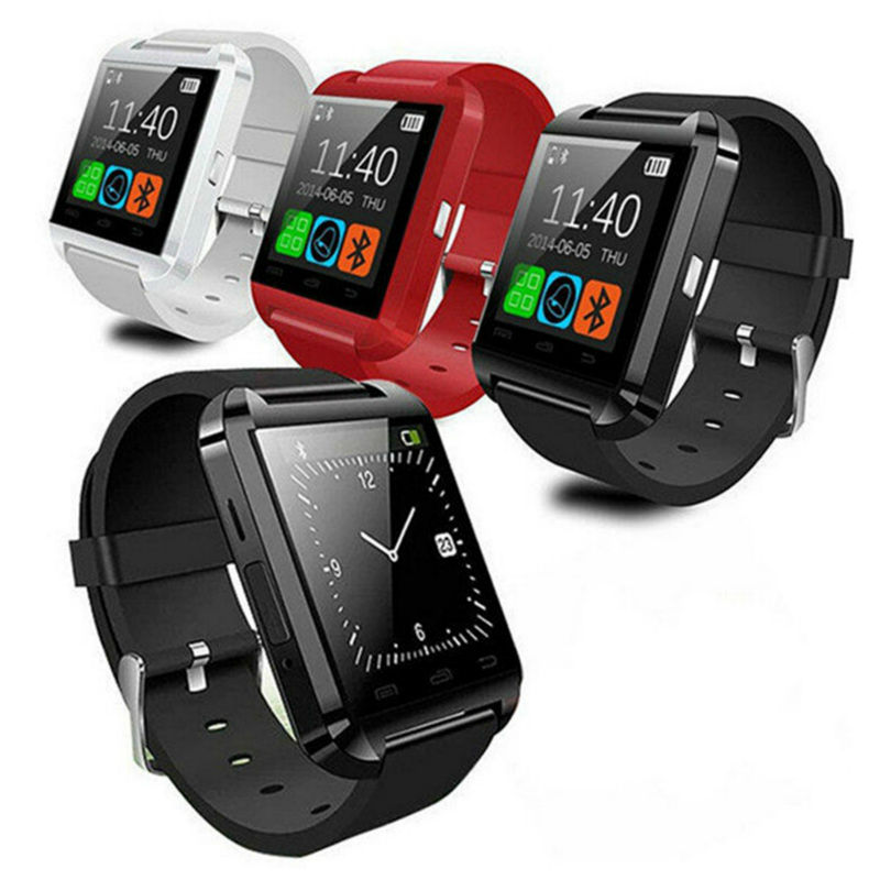 Bluetooth Android A1 Smart Watch Mobile Phone Accessories U8 Smart Watch(China)