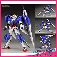Japan Anime Original Bandai Tamashii Nations Robot Spirits No.038 Gundam 00V Action Figure - 00 Gundam Seven Sword