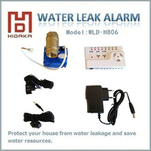 HIDAKA WLD-806 Smart Home Automation Water Leakage Detector System with BSP NPT Voice Recording for Security Equipment(1/2*1pcs)(China)