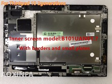 Free Shipping original For Lenovo Thinkpad 10 LCD 2 generation screen assembly LCD B101UAN01.7 frame + small board
