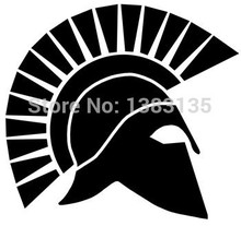 Buy 8 Colors Spartan Helmet Car Sticker Truck Window Bumper Auto SUV Door Laptop Kayak Vinyl Decal for $1.20 in AliExpress store