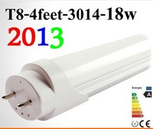 Good quality LED tube T8 lamp 20W 1200mm compatible with inductive ballast remove starter AC/DC 12V 25pcs/lot