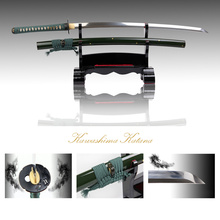 Free Shipping Full Handmade 1095 Carbon Steel Clay-tempered Samurai Sword authentic Katana Sharp Edge home decoration