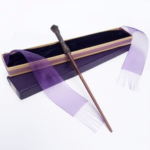 New Arrive Metal/Iron Core Harry Potter Magic Wand/Harry Potter Magical Wand/ Elegant Ribbon Gift Box Packing(China)