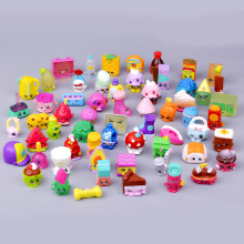 10pcs/lot Cute Rubber Material Fruit Shop Models Action Toy Figures Change Season 1 2 3 4 5 Send Random Kids Toys for Boys Girls