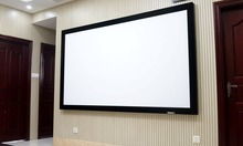 China manufacturer 120 Inch Fixed Frame Projector Screen for Cinema, 3 years'warranty