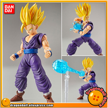 "Japan Anime ""Dragon Ball Z"" Original BANDAI Figure-rise Standard Assembly Action Figure - Super Saiyan 2 Son Gohan Plastic Model(China)"