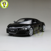 1/24 Audi R8 V10 Welly 22493 Diecast Model Car Black(China)