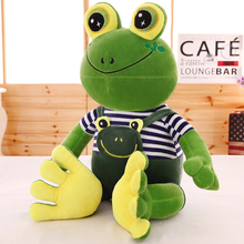 Cute Pillow Baby Knuffel Big Soft Toy Almofadas Birthday Gift For Baby Girl Cartoon Cute Pillow Frog Plush Stuffed Toy 70G0316