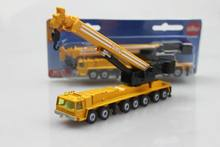Genuine German official high alloy car models 1:87 SIKU 1623 Heavy cranes telescopic crane boom(China)