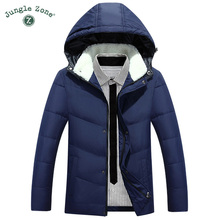 Winter Men's Hooded down jacket White Duck Down Jacket Men's Thick Coats down jacket mens Coats men's Parkas warm down jackets(China)
