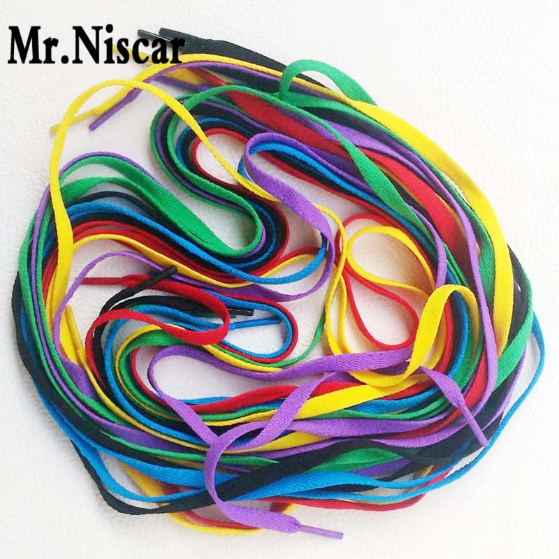 Mr.Niscar 10 Pair Red Polyester Flat Shoelaces Casual Canvas Shoes Colored Shoe Laces Factory Outlet 3m Rope Laces Shoestring<br><br>Aliexpress