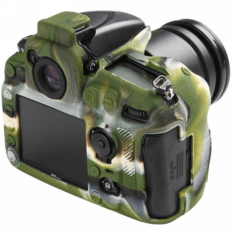 Soft Silicone Rubber Camera Bag For Nikon D810 D800 D850 Protective Body Case Skin DSLR Camera Rubber Cover Bag (12)
