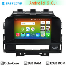 8 Eigh Octa Core 2GB RAM Android 6.0.1 for Vauxhall Opel Astra J Buick Verano 2010 2011 2012 2013 2014 Car DVD GPS Radio Stereo