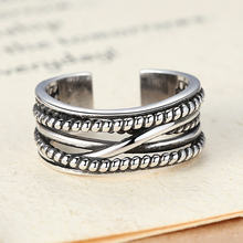BAOPON Silver Color Winding Fine Finger Rings Stackable Ring, Clear CZ For Women Wedding Jewelry(China)