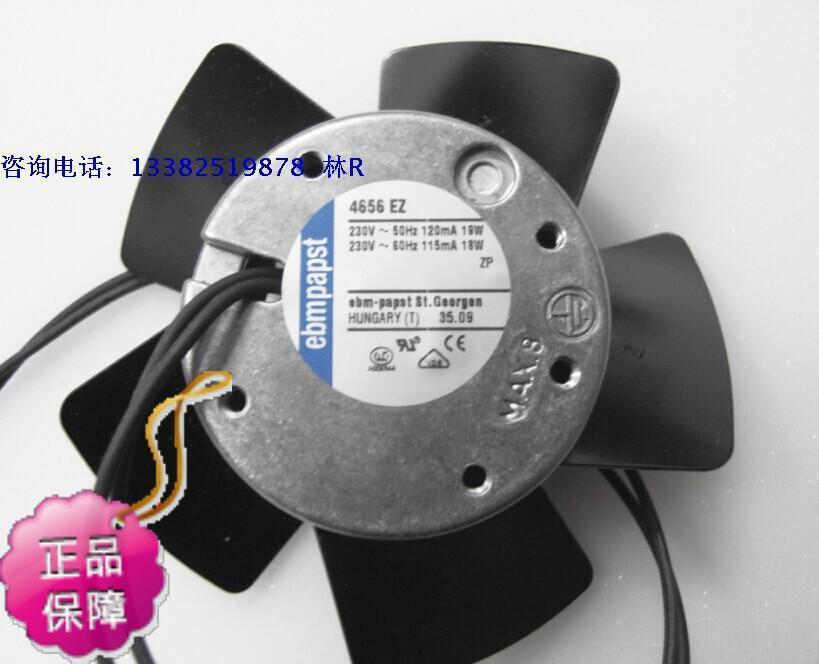 New Original ebmpapst 4656EZ AV230V 19W 120 * 38M temperature axial cooling fan<br><br>Aliexpress