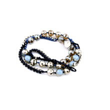 Well Suited Casual Rope Chain Beads Bracelet Long Ethnic Newest Women Bracelets For Best Friends Unisex Accessory