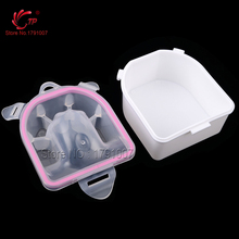 TP 1PC Pedicure Accessory Tools Bowls Nail Art Beauty Care Nail Salon Equipment Plastic Acrylic Soak Manicure Tool(China)