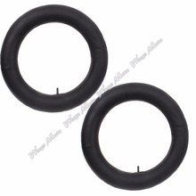 "2x 350/400 3.50 4.00-14 Inner Tubes w/ TR13 Straight Stem for Motorcycle Trail MX Enduro Dirt Pit Bikes 14"" Tire(China)"