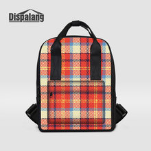 Dispalang Mother Shoulder Bags Plaid Patterns Maternity Mummy Handbags Baby Stroller Totes Bag Women Shopping Outdoors Back Pack(China)