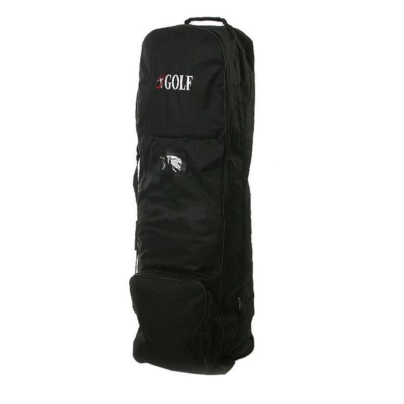 Flight Travel Sport Golf Bag Carrying Coverall Cases Cover Carrier with Wheels Golf Bags <br>