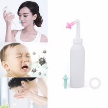 Nose Wash System Sinus & Allergies Relief Nasal Clean Pressure Rinse Neti Pot-Y207 Drop Shipping