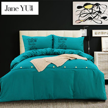 JaneYU 2017 new luxurious comforter cover sets luxury Orange bedding sets 100%cotton hotel bed set Twin Full Queen King