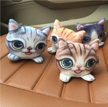 Cat meow star formaldehyde odor absorbing charcoal bag activated carbon dehumidification moisture Car Decor doll cat Figurines