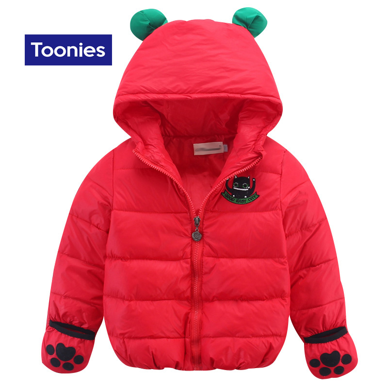 2017 New Baby Boy Jacket Winter Outwear Warm Baby Snowsuit Down Coat Cute Zipper Hooded Baby Girl Coats and Jackets Kids ClothesОдежда и ак�е��уары<br><br><br>Aliexpress