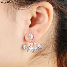 New Fashion Antique Gold Silver Color Punk Rivet Ear Cuff Clip Stud Earrings For Women Jacket Piercing Earrings 9168(China)