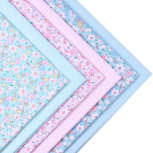 2016New arrival 2 pic/lot 40x50cm Cotton Patchwork fabric tecido sewing bedding bag fabrics tissu quilts Handmade Doll DIY Cloth