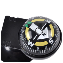 New Car Vehicle Floating Ball Magnetic Navigation Compass Black(China)