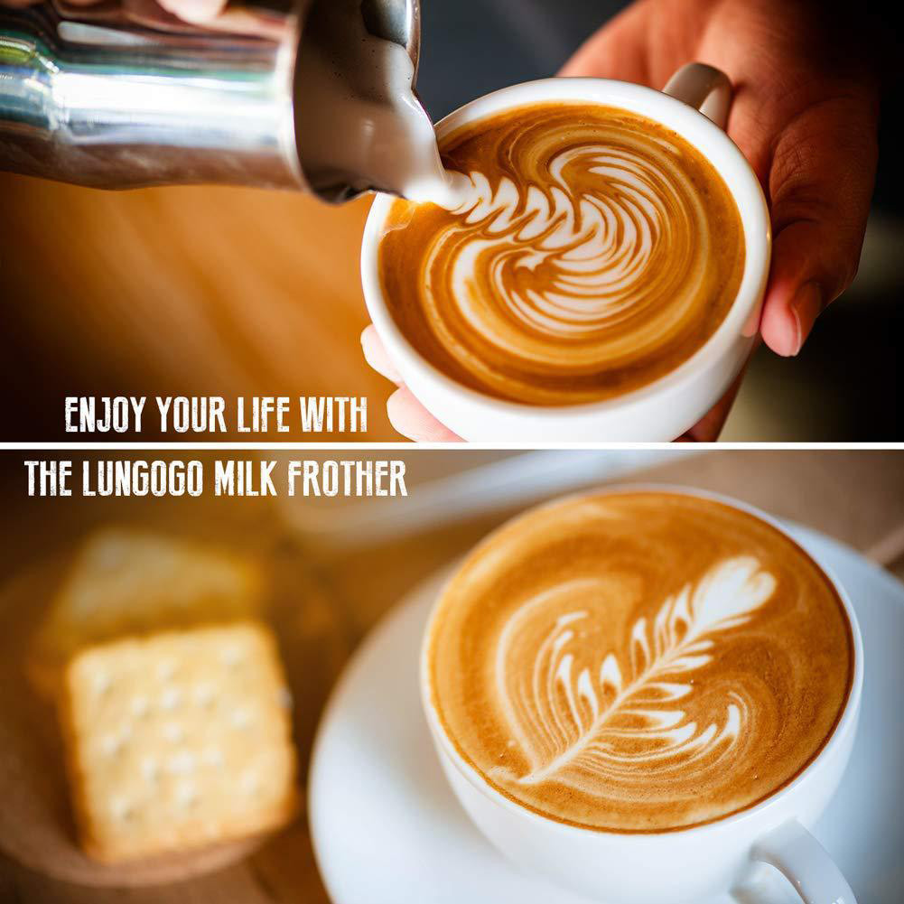 Powerful Double Spring Whisk Electric Milk Frother Kitchen Mixer Hand Milk Foamer for Coffee Latte Cappuccino 11