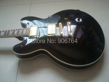 NEW G custom BBKING electric guitar black pickguard solod wood free shipping instock rosewood fretboard(China)