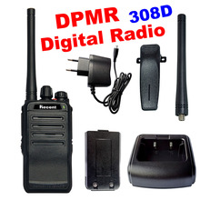 3W Digital Radio RS308D DPMR Professional Walkie Talkie 16 Channels Clear Voice Call Digital Encryption UHF 400-470MHz