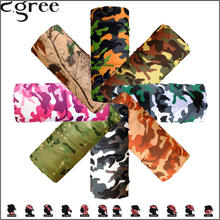 C.gree Tube Headband Magic Military Bandanas Bicycle Motorcycle Men Multi Scarfs Turban Head Face Mask Cap hijab collar foulard
